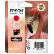 Epson Singlepack Red T0877 Ultra Gloss High-Gl