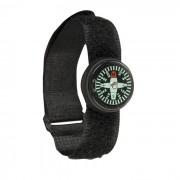 MIL-TEC® | Kompas 360° na hodink. pásek pogumovaný ČERNÝ