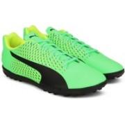 Puma Adreno III TT Football Shoes For Men(Black, Green)