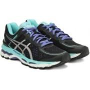Asics GEL-KAYANO 22 Running Shoes For Women(Black)