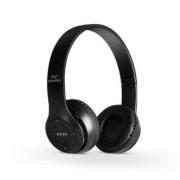Bluetooth fejhallgató mikrofonal ,rádio fm és SD kártya ,P47 Fekete