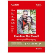 Canon A4 Photo Paper Plus Glossy II, PP-201, 20 ark, 265g/m2