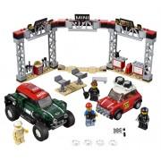 LEGO 1967 Mini Cooper S Rally și automobil sport 2018 MINI John Cooper Works