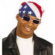 Geen Amerikaanse bandana zakdoek