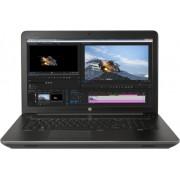 "Laptop HP ZBook 17 G4 (Procesor Intel® Core™ i7-7820HQ (8M Cache, up to 3.90 GHz), Kaby Lake, 17.3""FHD, 16GB, 1TB HDD @7200RPM 256GB SSD, nVidia Quadro P3000 @6GB, Win10 Pro)"