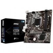 Дънна платка MSI H310M PRO-VD, H310, LGA 1151, DDR4, PCI-E(VGA&DVI-D), 4x SATA 6Gb/s, 2xx USB 3.1 Gen1, m-ATX