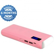 Hobins TLWP Fast Charge 20000 Mah Power Bank (Pink)