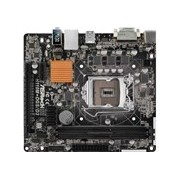 ASRock H110M-DGS/D3 Desktop Motherboard - Intel Chipset - Socket H4 LGA-1151