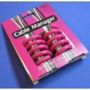 Cable Manager roz Organizator cabluri