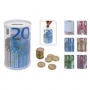 Merkloos 50 eurobiljet spaarpot 13 cm