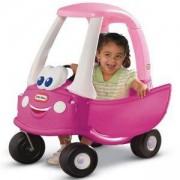 Детска кола за каране и бутане - Розова, Little Tikes, 320140