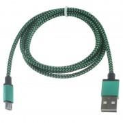 Cabo USB 2.0 / MicroUSB Premium - 3m - Verde