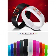 Robotic Magnetic LED Watch (Colour may vary)