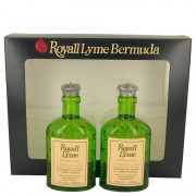 Royall Fragrances Royall Lyme All Purpose Lotion / Cologne Splash 2 x 4 oz / 118.29 mL Includes 2 Spray Pumps Gift Set Men's Fra