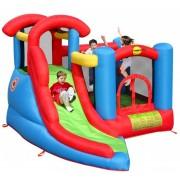 Saltea gonflabila Happy Hop Play & Slide