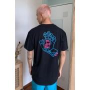 Santa Cruz - T-shirt main réfléchissanteu00a0noir, exclusivité UO- taille: S