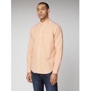 Ben Sherman Signature Signature Peach Mod Fit Gingham Shirt XXL Peach