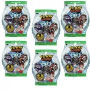 Yo-Kai Watch Sachets de 3 médailles Yo-Kai Watch (Série 3) - x6