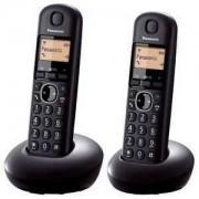 PANASONIC telefon bežični KX-TGB212FXB crni TwinPack