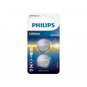 Philips CR2032P2/01B - 2 buc Baterie buton cu litiu CR2032 MINICELLS 3V