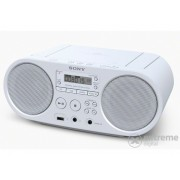 Radio-CD portabil Sony ZS-PS50 CD Boombox, alb