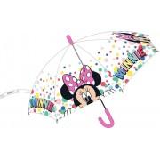 Minnie átlátszó esernyő