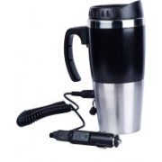 AutoVHPR Car Coffee and Tea Maker Boils Water in 20 Minutes Can also be run using Laptop USB Port 4 Cups Coffee Maker(Silver)
