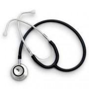Stetoscop Little Doctor LD Prof I stetoscop metalic utilizabil pe ambele parti diafragma mare Negru Inox