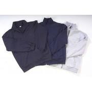 Sweatjacke mit Reißverschluss, Farbe marine, Gr. XL