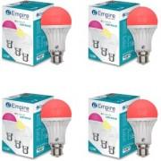 SWARA B22 12W COLOR LED BULB RED- PACK OF 4