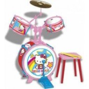 Instrument muzical Reig Musicales Drum Set Hello Kitty