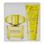 Versace Yellow Diamond Edt 90Ml + 100Ml Body Lotion 90Ml Per Donna (Eau De Toilette)