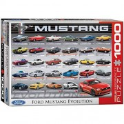 EuroGraphics Ford Mustang Evolution 1000pcs Puzzle Rompecabezas (Puzzle Rompecabezas, Vehículos, Niños y Adultos, 1000 Pieza(s))