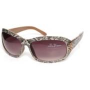 Mayhem Retro Square Sunglasses(Violet)