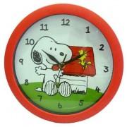 Snoopy műanyag quartz falióra