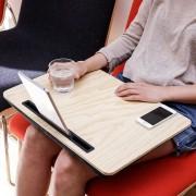 Kikkerland XL iBed tablethouder - Hout