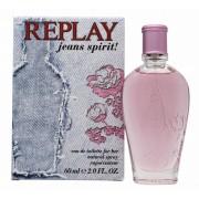 Replay jeans spirit for her eau de toilette 60 ml