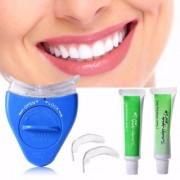 Nucleya Retail Teeth Whitening Tooth Polisher with LED Light Luma Smile Rubber Cups (White)