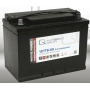 Batería de plomo ácido con placa tubular 12v 90Ah Q-batteries 12TTB-90
