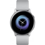 "Smartwatch Samsung Galaxy Watch Active, Procesor Dual-Core 1.15GHz, Super AMOLED 1.1"", 750MB RAM, 4GB Flash, Bluetooth, Wi-Fi, Tizen (Argintiu) + Cartela SIM Orange PrePay, 6 euro credit, 6 GB internet 4G, 2,000 minute nationale si internationale fix sau"