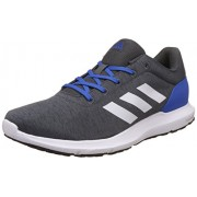 adidas Men's Cosmic 1.1 M Dgreyh, Ftwwht and Blue Running Shoes - 10 UK/India (44.67 EU)