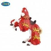 Calul regelui Richard (rosu) - Figurina Papo