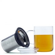 Glass Mug met Thee Filter