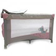 Детска кошара за спане и игра Zebra - розова, Cangaroo, 356178