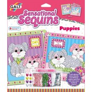 GALT - SENSATIONAL SEQUINS: SET 2 TABLOURI CU CATELUSI -NEW EDITION - (1004900)