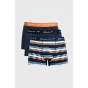 Gant Spodní Prádlo Gant 3-Pack Trunk Yarn-Dyed Stripes modrá L