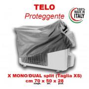Cappottina Per Climatizzatori Condizionatori Taglia Xs Lungh.70cm.X Alt.50cm. X