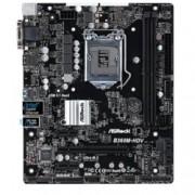 Дънна платка ASRock B360M-HDV, B360, LGA1151, DDR4, PCI-E (HDMI&DVI), 6x SATA3 6Gb/s, 1x M.2 Socket, 4x USB 3.1 (Gen2), Micro ATX