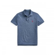 Polo Ralph Lauren Custom Slim Fit Mesh Polo - Classic Royal Heather - Size: 2X-Large