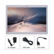 A108 De 10,1 Pulgadas Tablet PC De Red 3G WiFi Doble Tarjeta SIM Para Android 6.0 Sistema De Plata